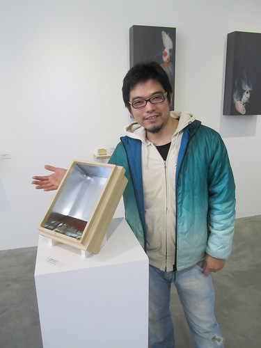 Riusuke Fukahori at the ICN gallery