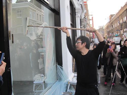 Live painting by Riusuke Fukahori