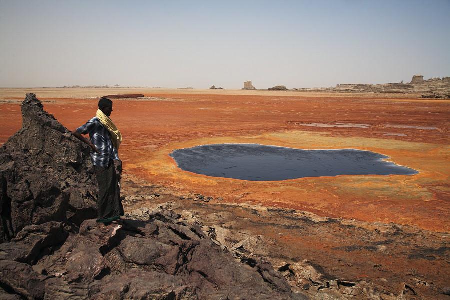 Lago Azul Desierto