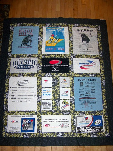 T-shirt Quilt by Life on the Selvage Edge