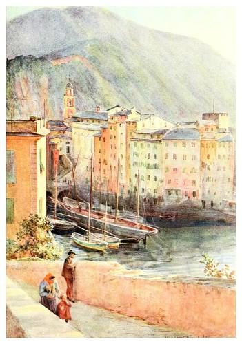 004-Puerto de Camogli-An artist in the Riviera (1915)-Walter Tyndale