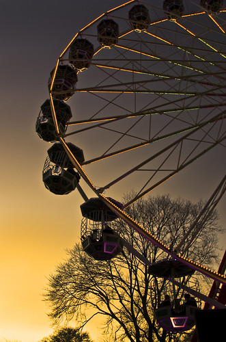 Big Wheel Sunset