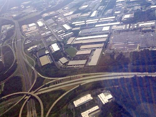 commercial sprawl in North Carolina (c2011 FK Benfield)