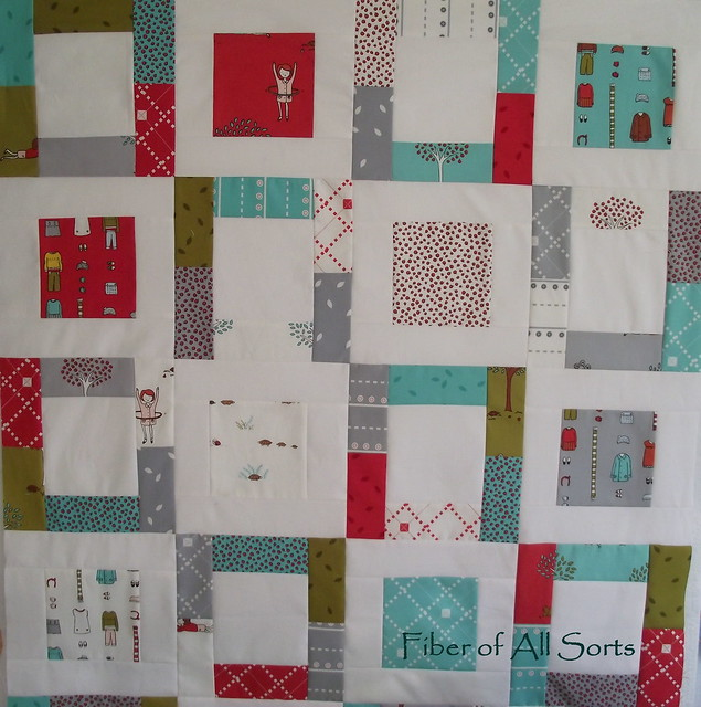 Little Apples - quilt top