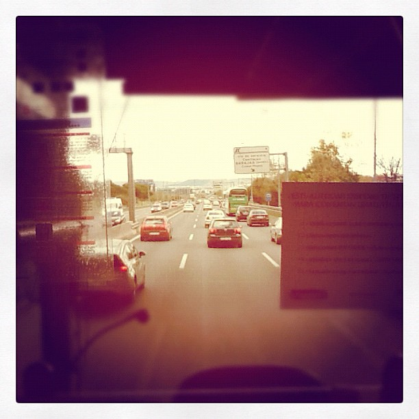 Instagram from the bus