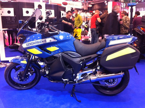 Moto Gendarmerie Nationale