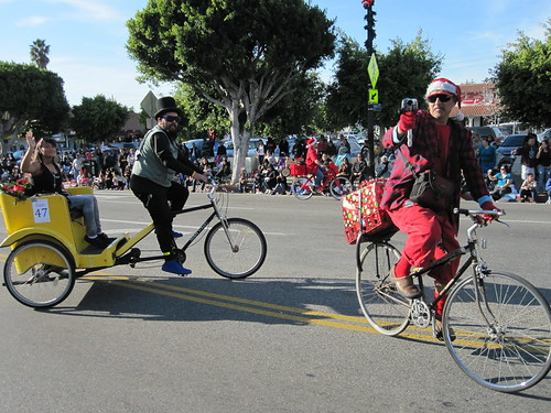 Aktive and Chicken Leather in the 67th NELA Holiday Parade