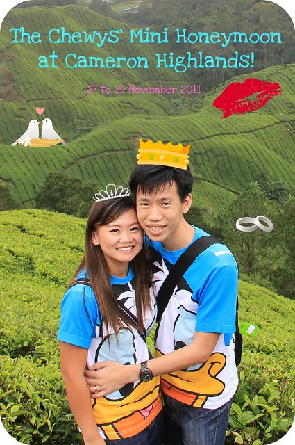 Mini Honeymoon at Cameron Highlands