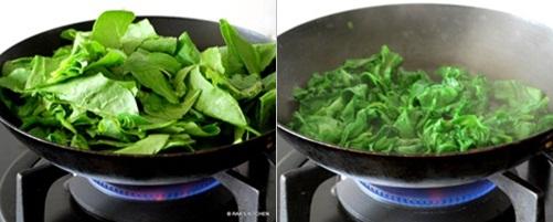 step 2 palak paneer recipe