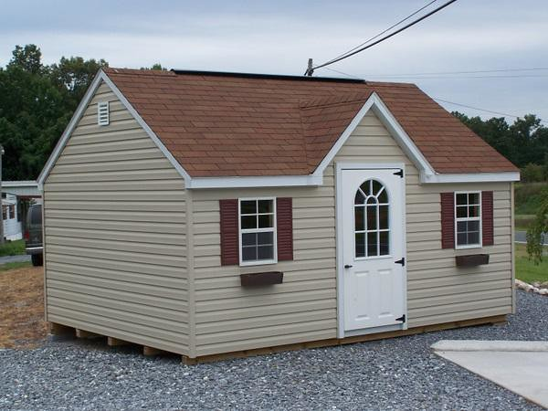 Build 12 x12 shed gable vents must see for Pictures of sheds turned into homes