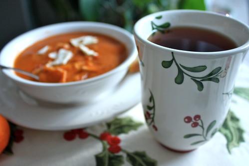 Warm Soup, Hot Tea