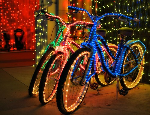 The Osborne Family Spectacle of Dancing Lights - Even The Bikes Are Lit