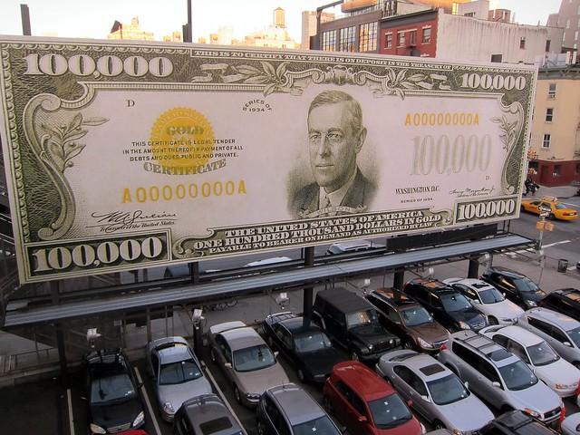 "John Baldessari: ""The First $100,000 I Ever Made"", at the High Line"