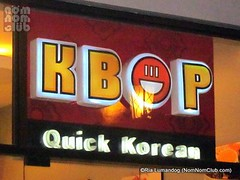 KBop Quick Korean Restaurant