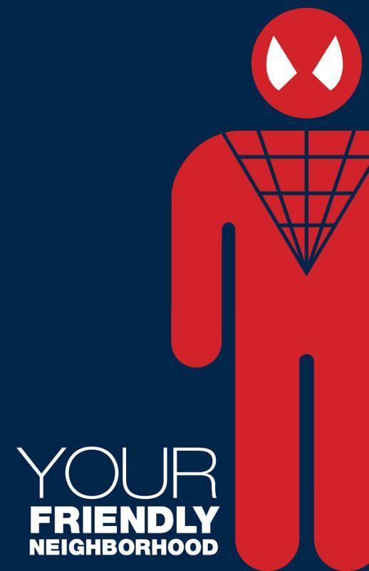 Super-Heróis e suas frases 2 homem aranha