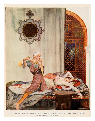 003-More tales from the Arabian nights 1915-ilustrado por Willy Pogany