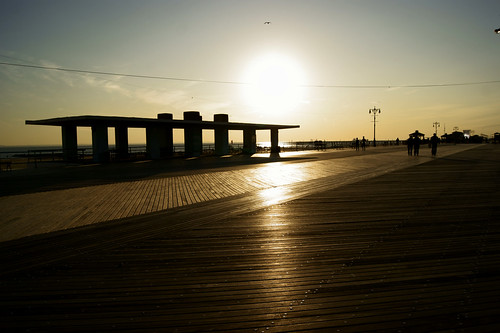 Sunset Boardwalk