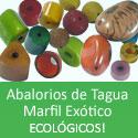 Abalorios Tagua