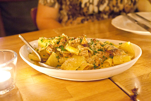 Sandy's pappardelle