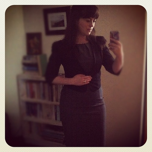 Looking very officious for #dressember day 12