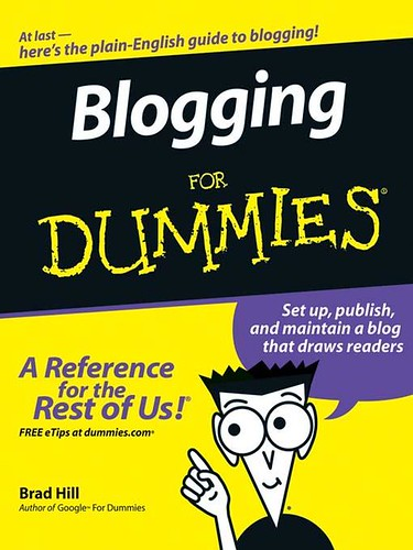 Blogging For Dummies (2006)