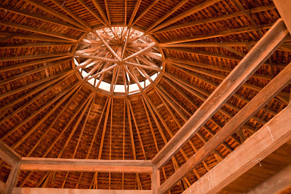 Round Barn - Second Floor and Ceiling