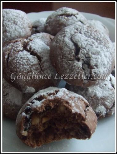 portakallı çikolatalı kurabiye 3