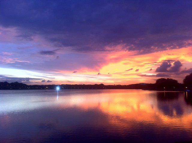 Julian Chow - Sunset at Bedok Reservoir