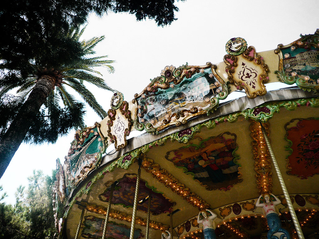 Carousel in Nice, France - Carousels in Europe
