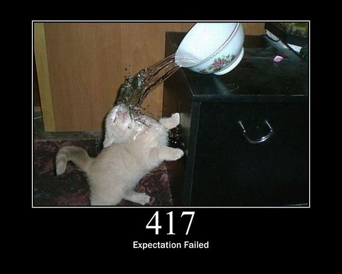 417 - Expectation Failed