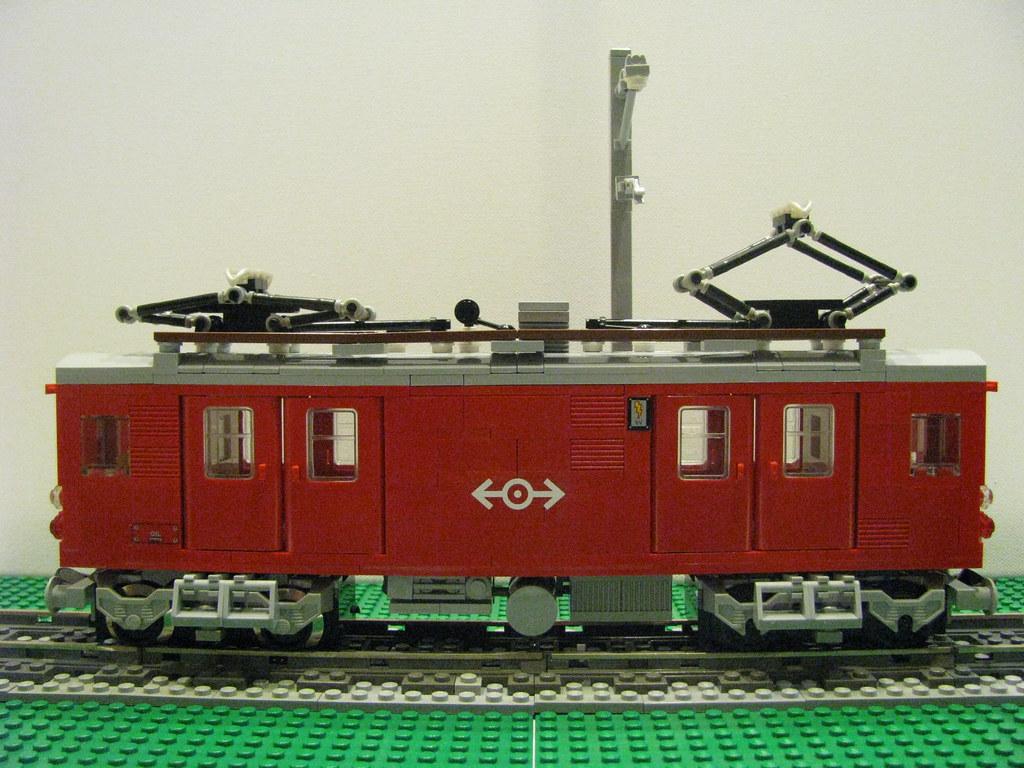 LBB De4/4 Gepacktriebwagen