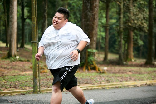 Yong Kah Leong : personal challenge of losing weight