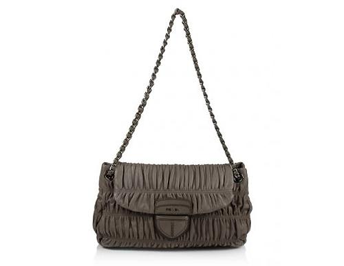 Prada Nappa Gaufre Pattina Shoulder Bag 87