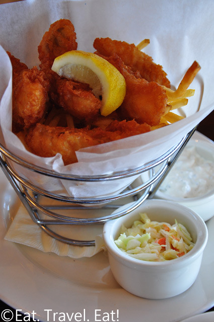 Bistro Boudin: Fish and Chips-  Fisherman's Wharf, San Francisco, CA
