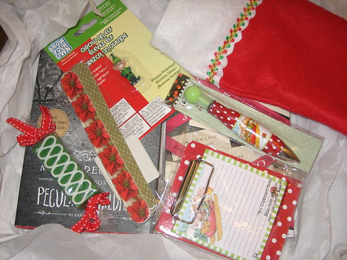 Book Blogger Holiday Swap 2011 -- Goodies