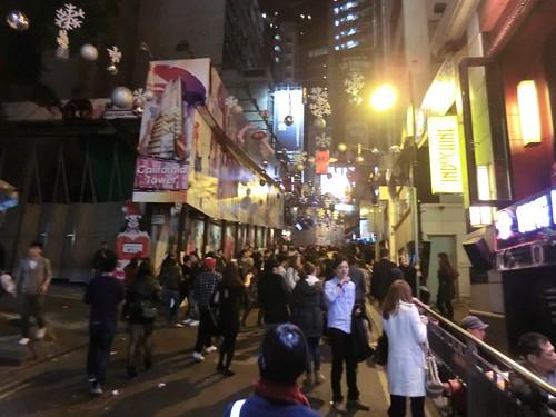 Lan Kwai Fong in Hong Kong