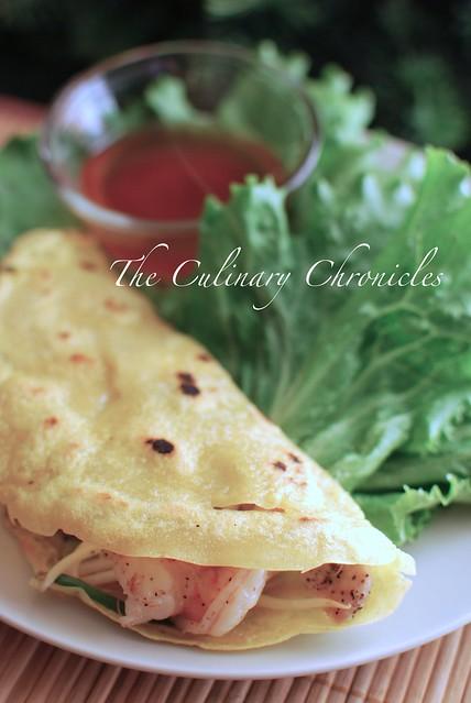 Bánh Xèo (Vietnamese Sizzling Crepe)