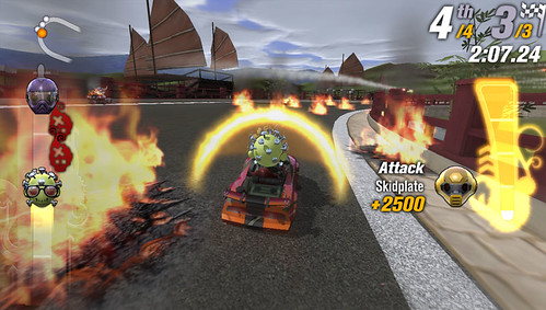 Fire - ModNation Racers: Road Trip - Recipe For Fun... Big, Bad, Weapons!