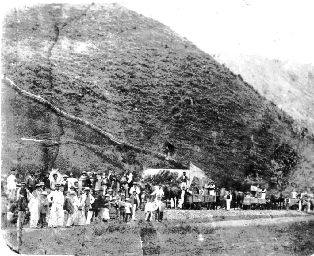 Dun Mountain Railway Opening