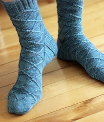 Business Casual sock pattern