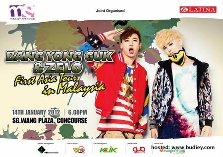 [B&Z] Tour Poster