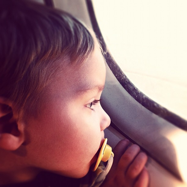 Cole on the plane