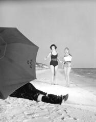 Christmas on the beach in Florida: Panama City Beach, Florida