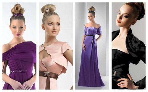 Modern Modesty Bridesmaids Style by Nina Renee Designs