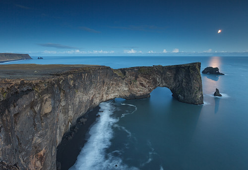 Iceland - Dyrhólaey Door at Blue Hour