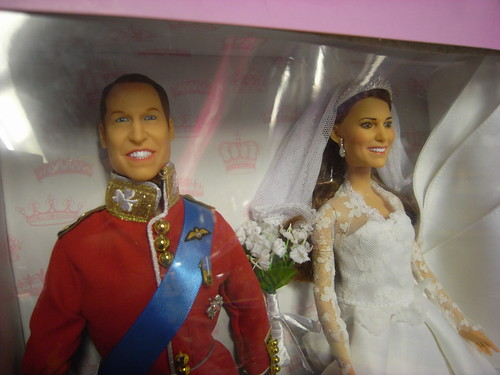 Wills & Kate dolls