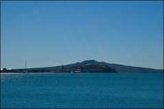 View on Devonport from Tamaki Drive