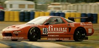 Honda NSX - 1994 - Le Mans 24 Hours race