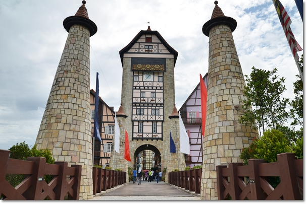 Entrance to Colmar Tropicale