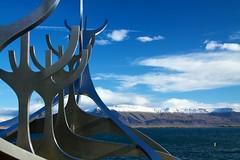 Iceland - Reykjavik 013 - Solfar Sculpture
